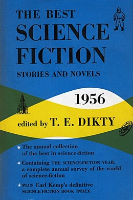 <i>The Best Science Fiction Stories and Novels: 1956</i> book by T. E. Dikty