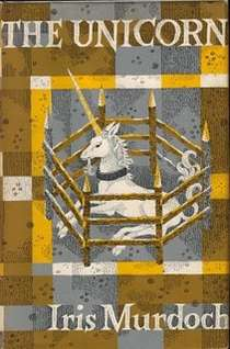 First British edition cover of The Unicorn by Iris Murdoch.jpg