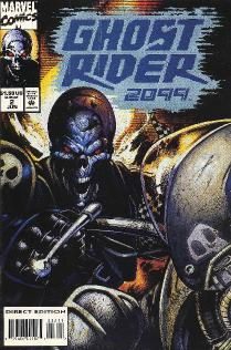rider comic strip Ghost