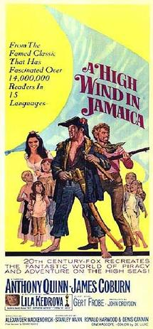 A High Wind in Jamaica (1965) movie poster