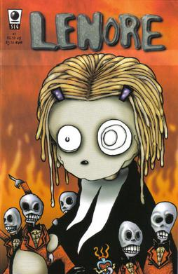 Picture of a book: Lenore, The Cute Little Dead Girl
