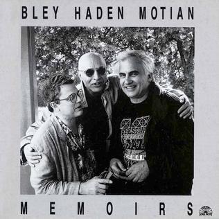 <i>Memoirs</i> (jazz album) 1990 studio album by Paul Bley, Charlie Haden and Paul Motian