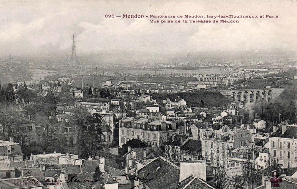 Meudon France  city photos gallery : Meudon, Panorama de Meudon, Issy les Moulineaux et Paris, Vue ...