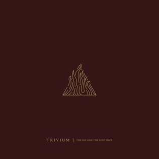 <i>The Sin and the Sentence</i> album by Trivium