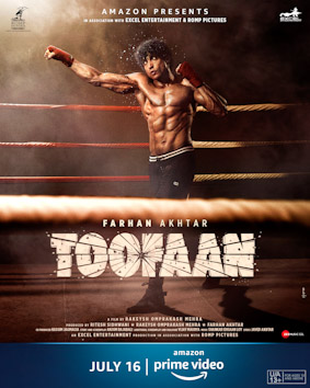 first look of farhan akhtar in upcoming movie toofan