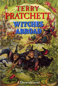 <i>Witches Abroad</i> Discworld novel by Terry Pratchett