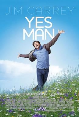 Recommend a film YesMan2008poster