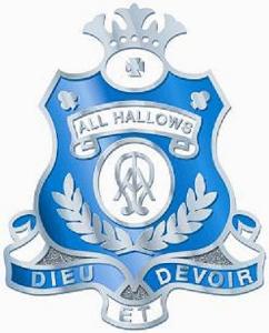 Crest of All Hallows' School