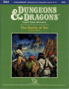 Cover of DA4 The Duchy of Ten