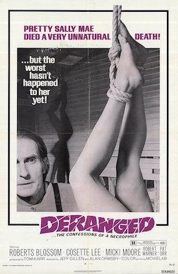 definition of deranged