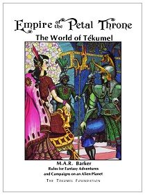 <i>Empire of the Petal Throne</i> fantasy roleplaying game