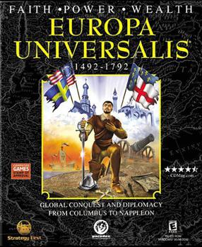 Picture of a game: Europa Universalis