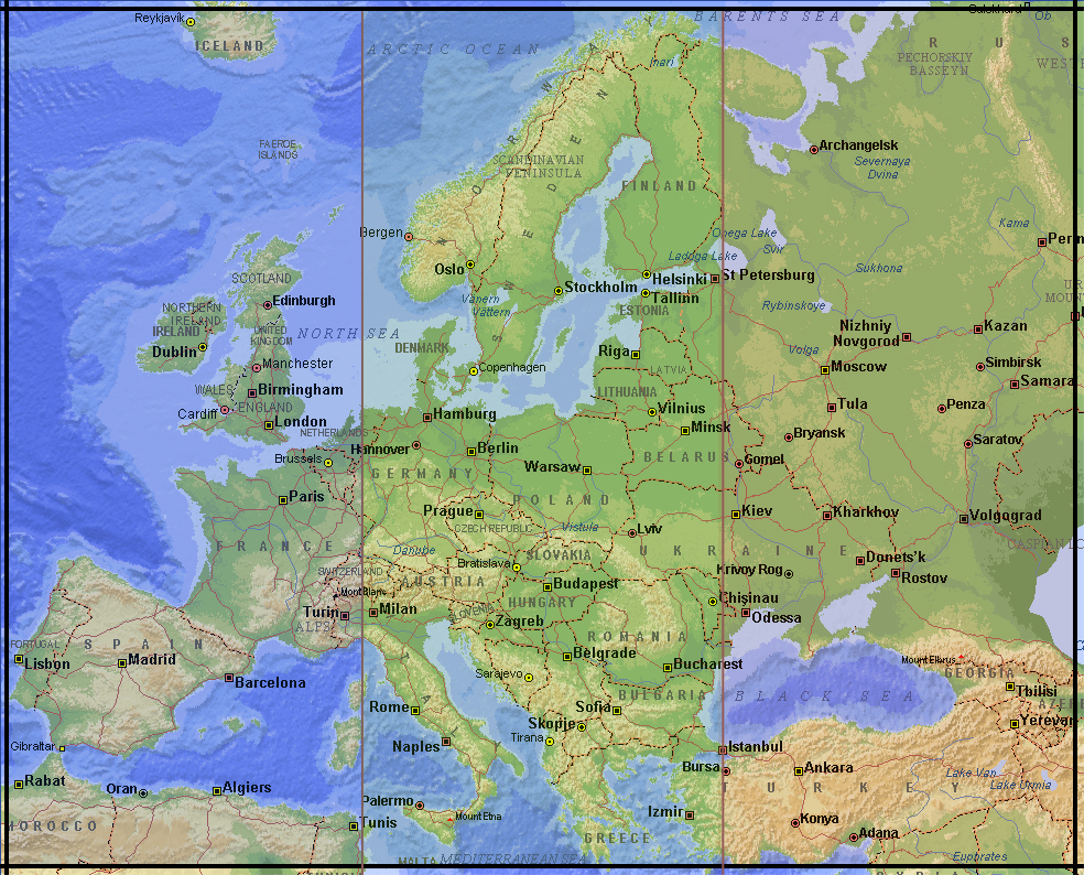 eastern and western europe The two sides where named the east and the west the west was made up of the  western alliance countries of europe, including countries.