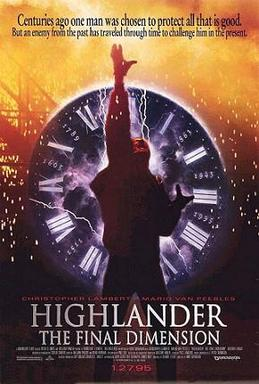 Picture of a movie: Highlander: The Final Dimension