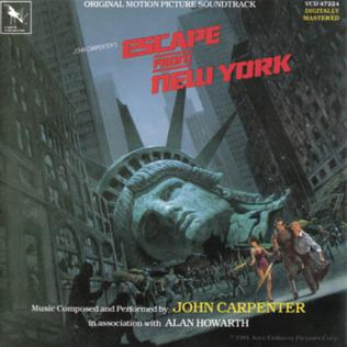 <i>Escape from New York</i> (soundtrack) 1981 film score by John Carpenter