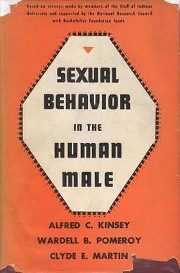 The 1948 first edition of Sexual Behavior in the Human Male, the first of the two Kinsey Reports Kinsey-Male.jpg