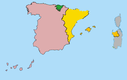 Map 24 Spain.File Map Of Catalonia And Spain2 Png Wikipedia