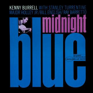 kenny burrell, midnight in blue, recensione