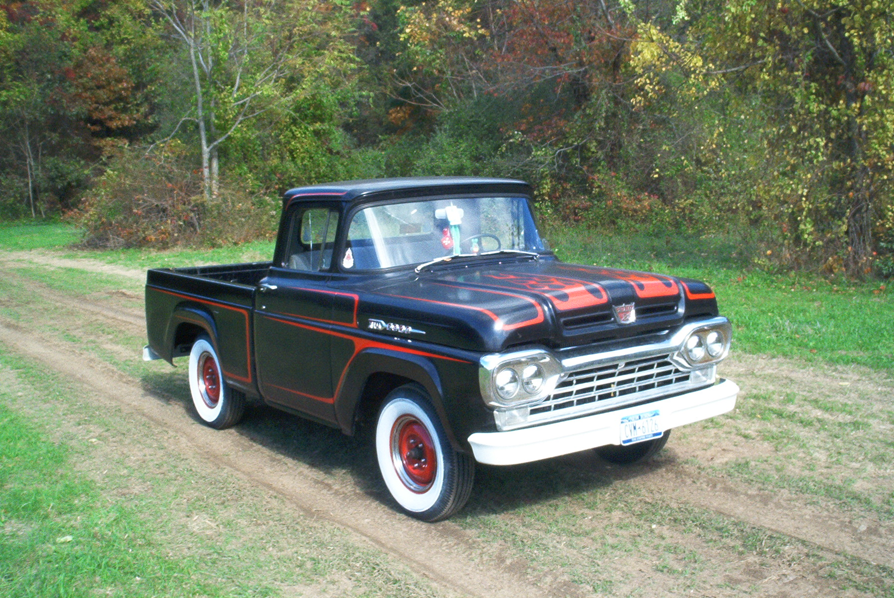 1960 Ford F100 History