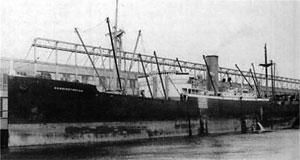 SS <i>Washingtonian</i> (1913) American freighter that sank off Delaware after a collision