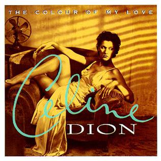 <i>The Colour of My Love</i> 1993 studio album by Celine Dion
