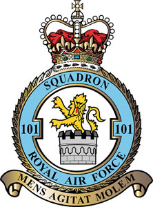 No. 101 Squadron RAF Flying squadron of the Royal Air Force