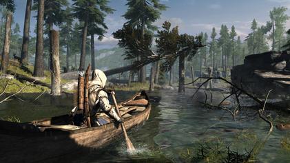 الموضوع الاضخم والرسمي لجميع اجزاء لعبة Assassins creed تعرف على كل شيء AC3_canoe_-_a_lost_feature