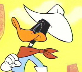 Daffy Duck, as seen in the