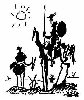 Don Quixote (Picasso) - Wikipedia