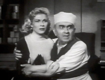 Fred Essler and Lori Nelson (1956), in Hot Rod Girl