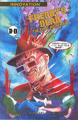 a nightmare on elm street franchise comics