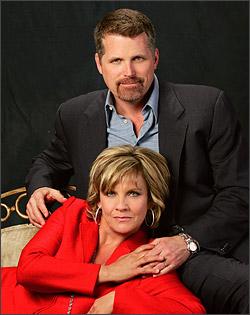 Josh and Reva played by Robert Newman and Kim ...