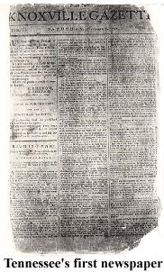 <i>The Knoxville Gazette</i>