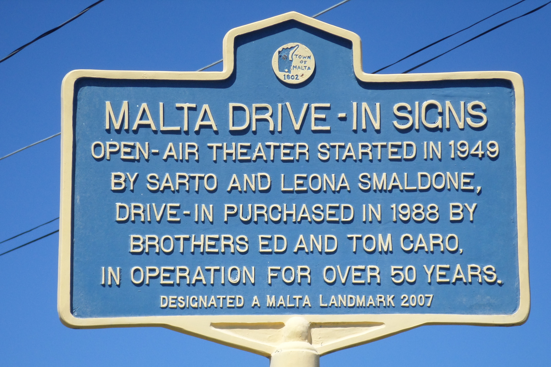 File Malta Drive In Marker Jpg Wikipedia