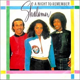 A Night To Remember Shalamar Song Wikipedia