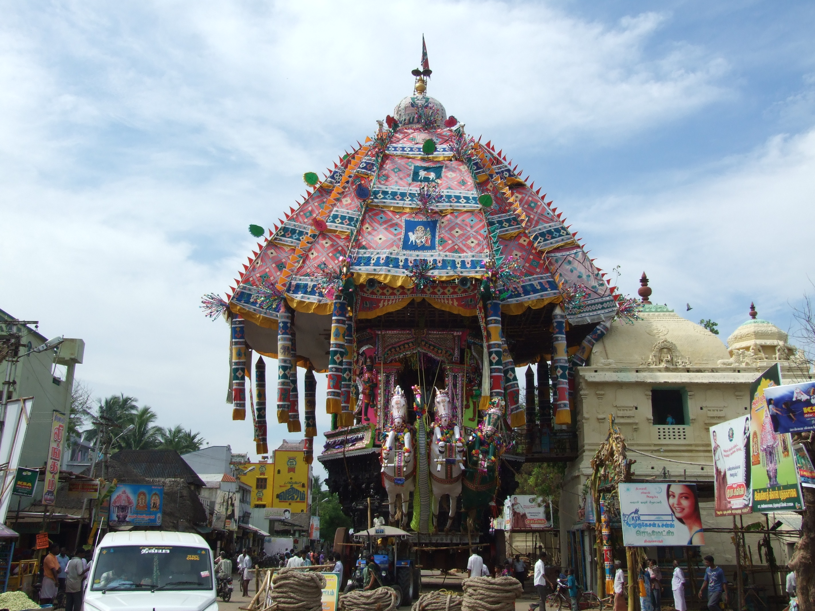 Thiruvarur Car Festival