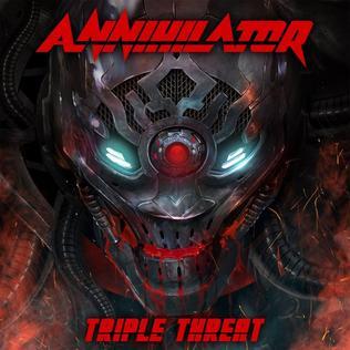 <i>Triple Threat</i> (Annihilator album) 2017 compilation album by Annihilator
