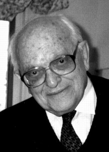 Anatol Rapoport Russian-born American mathematical psychologist