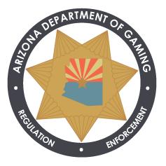 Arizona Department of Gaming gaming control board in Arizona