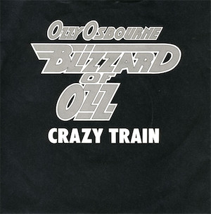 Crazy Train 1980 single by Ozzy Osbourne