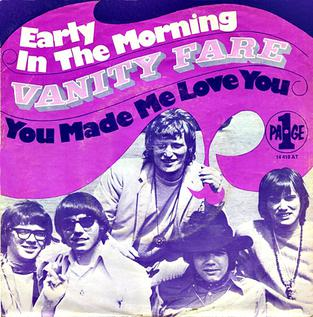 Image result for early in the morning vanity fare single images