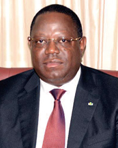 Emmanuel Issoze-Ngondet Gabonese diplomat and politician