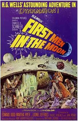 Image of the First Men in the Moon movie poster