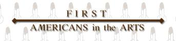 First Americans in the Arts official logo
