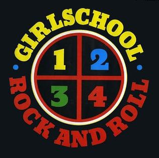 <i>1-2-3-4 Rock and Roll</i> 1983 extended play by Girlschool