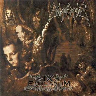 <i>IX Equilibrium</i> 1999 studio album by Emperor