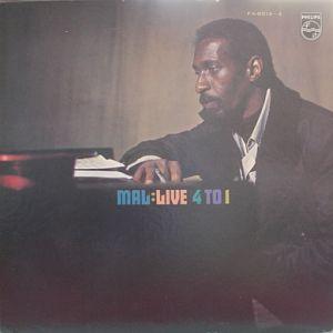 <i>Mal: Live 4 to 1</i> 1971 live album by Mal Waldron