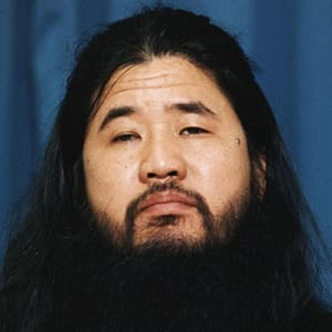 Shoko Asahara Founder of the Japanese new religious group Aum Shinrikyo