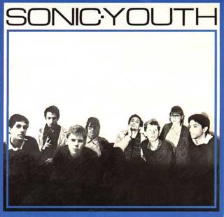 <i>Sonic Youth</i> (EP) 1982 EP by Sonic Youth