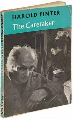 Cover of The Caretaker (publ. Methuen, 1960)